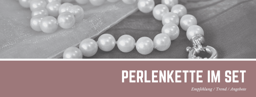 Perlenkette im Set